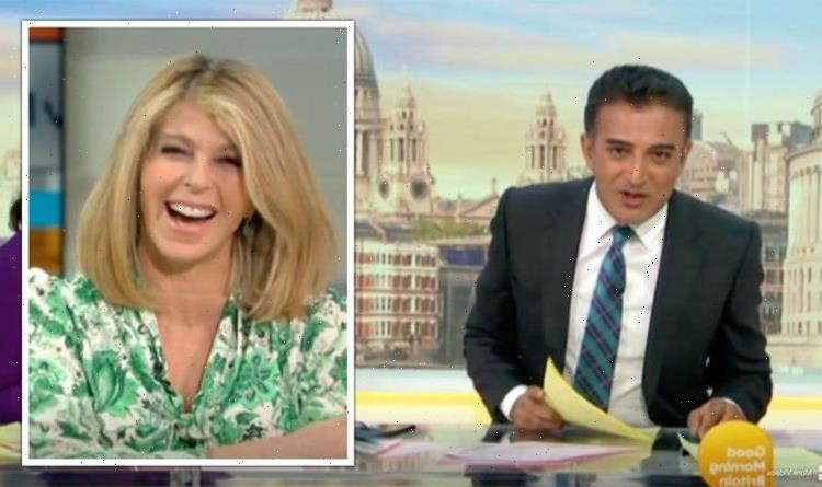 Kate Garraway scolds Adil Ray after awkward birthday snub 'Where are your presents?'