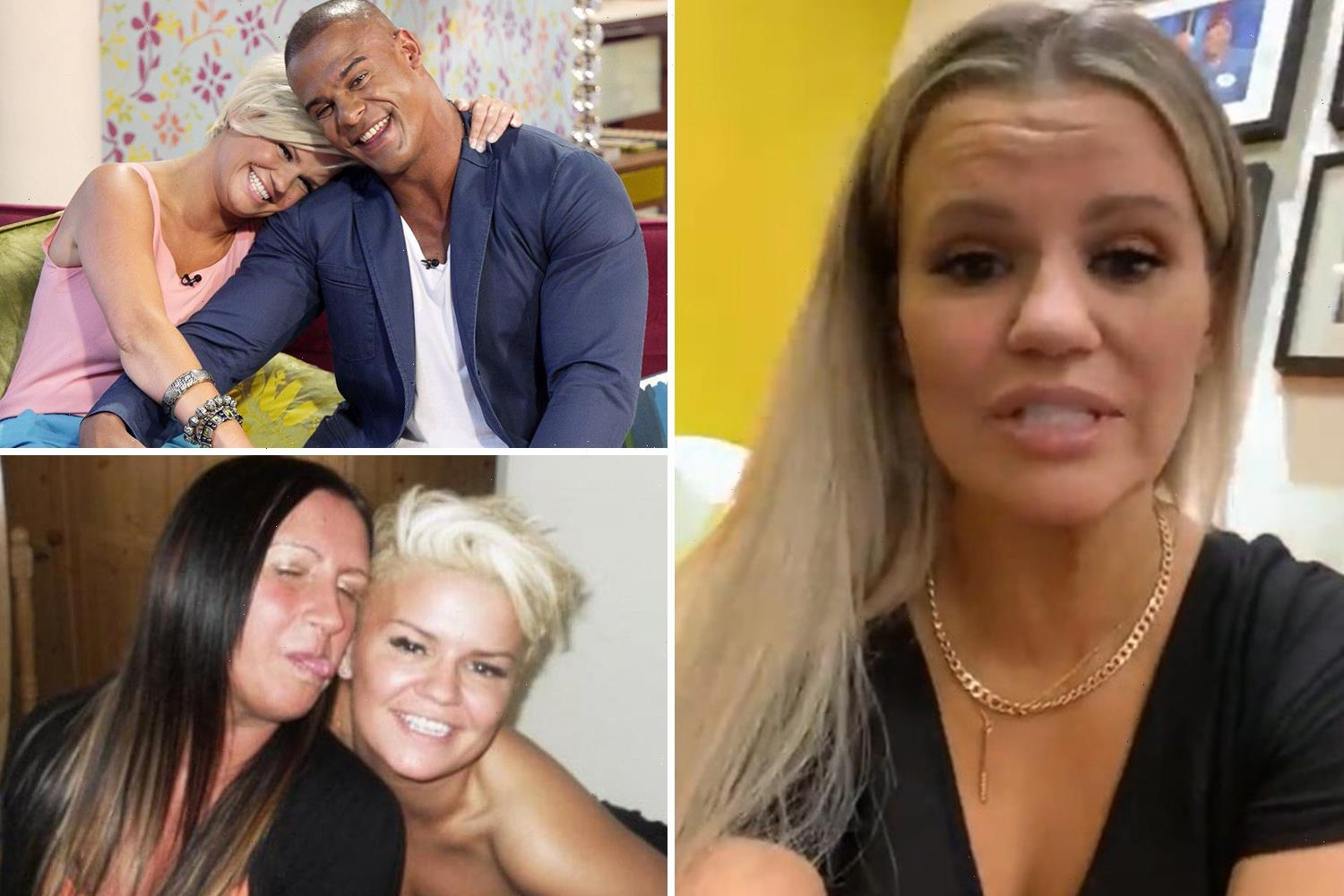 Kerry Katona breaks down in tears as she reveals pain over losing her ex husband and auntie to addiction