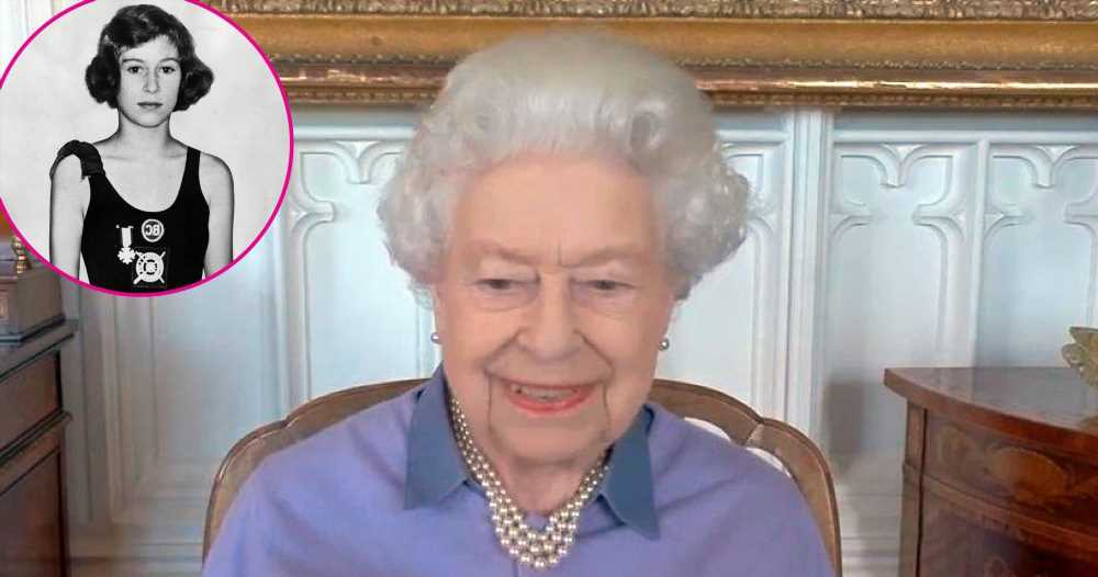 Queen Elizabeth II Giggles While Reflecting on Award She Received as a Teen