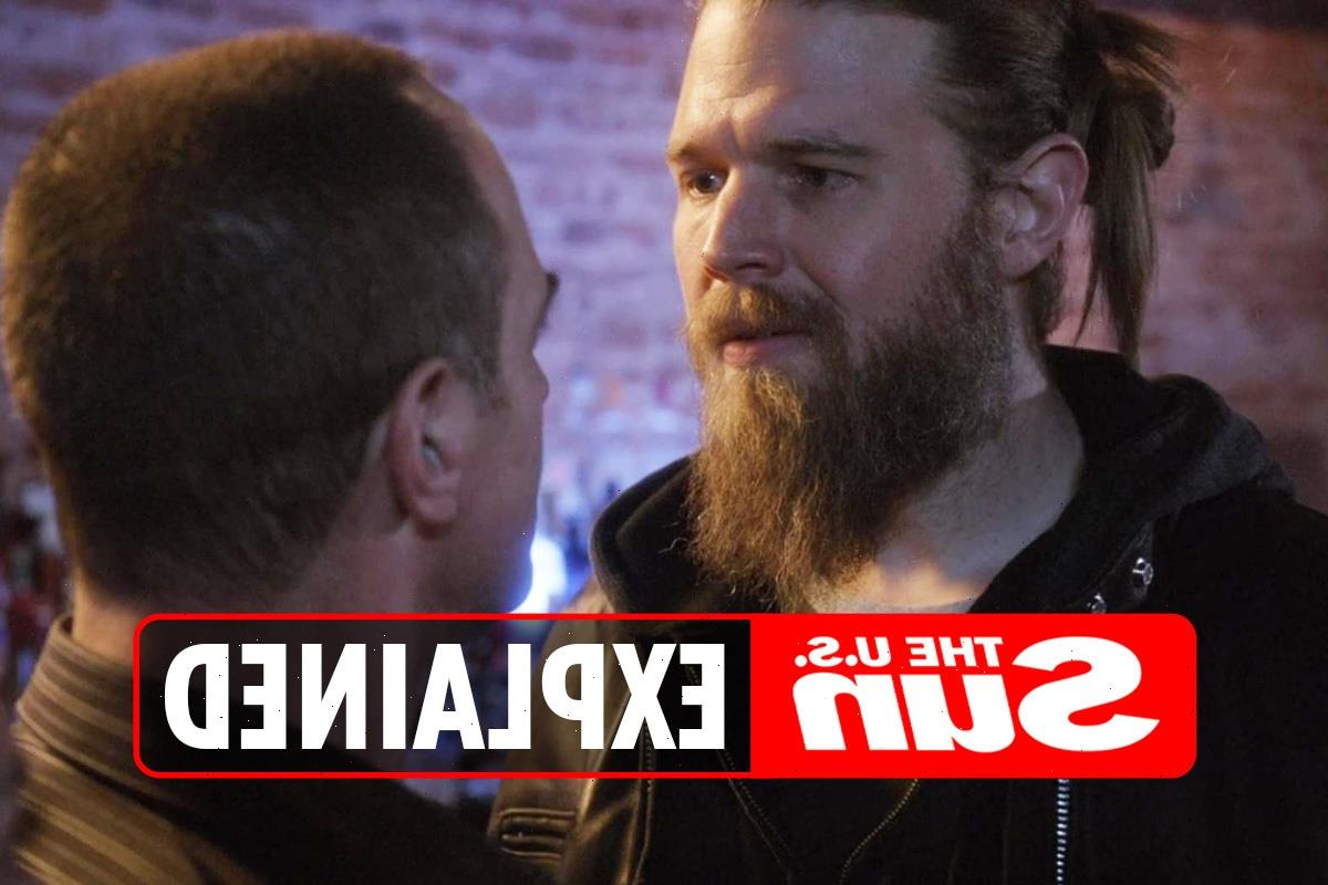 Who does Ryan Hurst play on Law & Order: SVU?