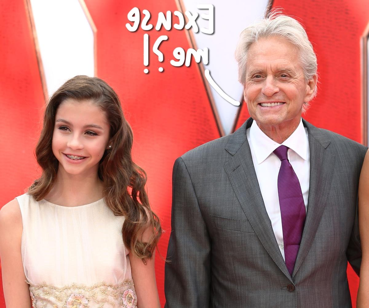 Awk! Michael Douglas Was Mistaken For His 18-Year-Old Daughter's Grandfather!