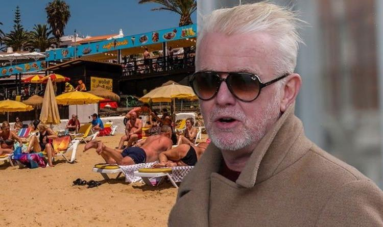 Chris Evans says there's 'no reason' to go abroad as he urges UK to cancel their holidays