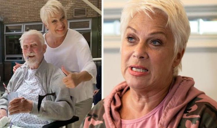 Denise Welch slams Covid 'hypocrisy' as she's not allowed in ambulance with frightened dad