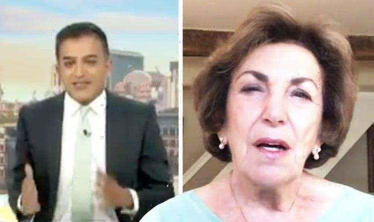 'Disgusting!' Adil Ray rages at Edwina 'Migrant doctors hold up NHS – they're British!'