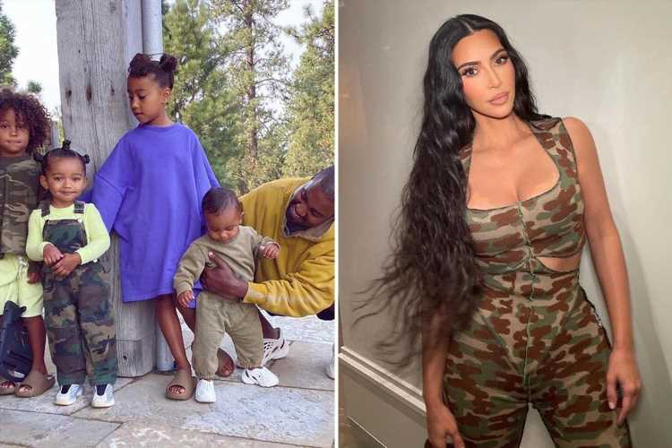 Kim Kardashian posts Father's Day tribute to ex Kanye West on Instagram as he moves on with model Irina Shayk