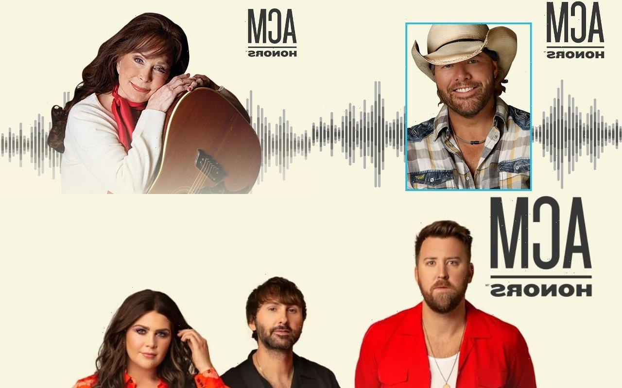 Loretta Lynn, Toby Keith, Lady A to Receive 2021 ACM Special Honors