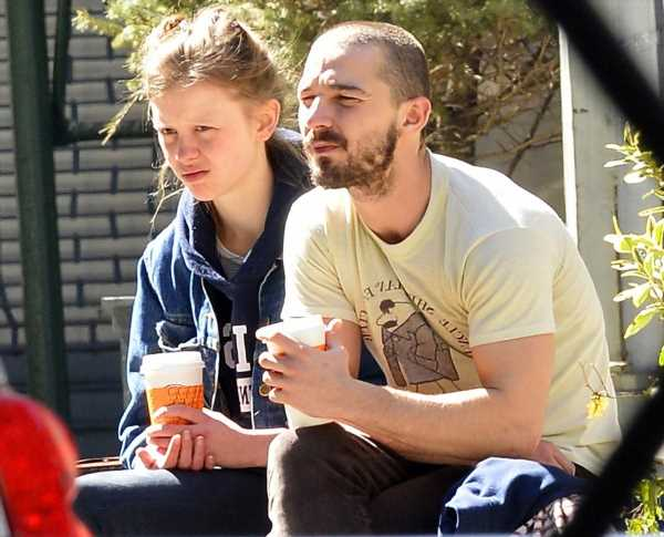 """""""Oh no, Shia LaBeouf is probably back together with Mia Goth"""" links"""