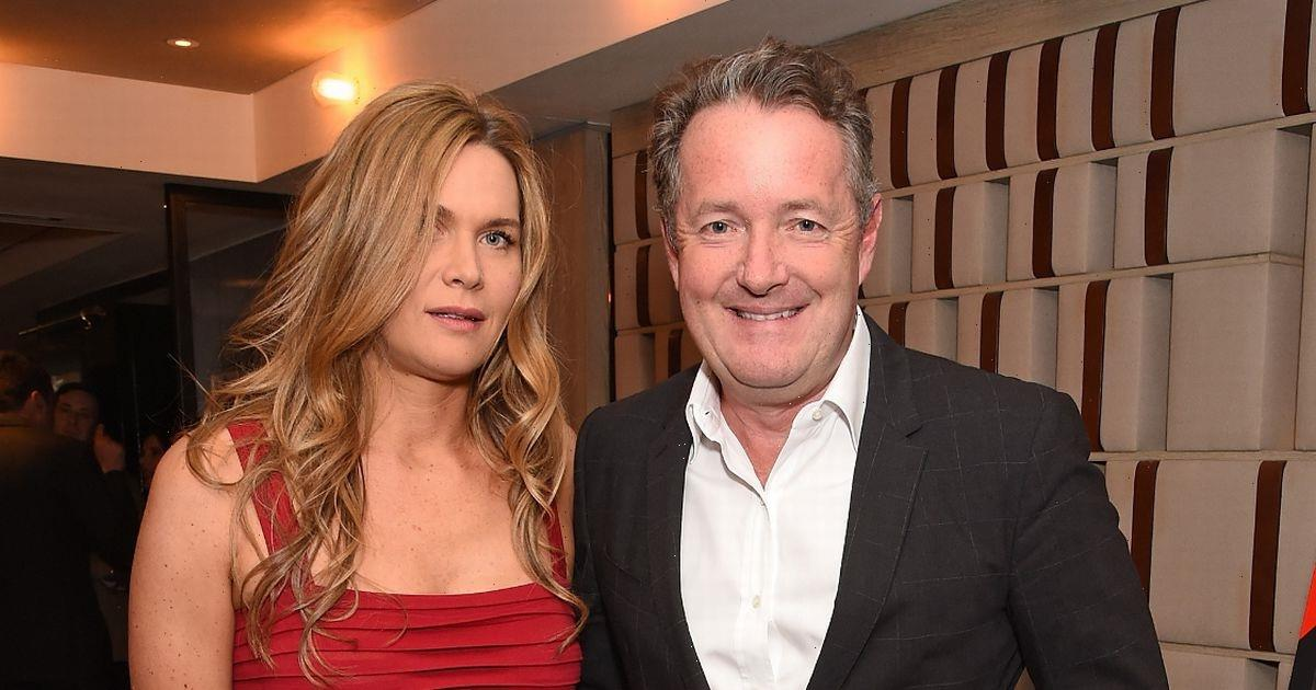 Piers Morgan's wife admits her legs made him crash car on their first date