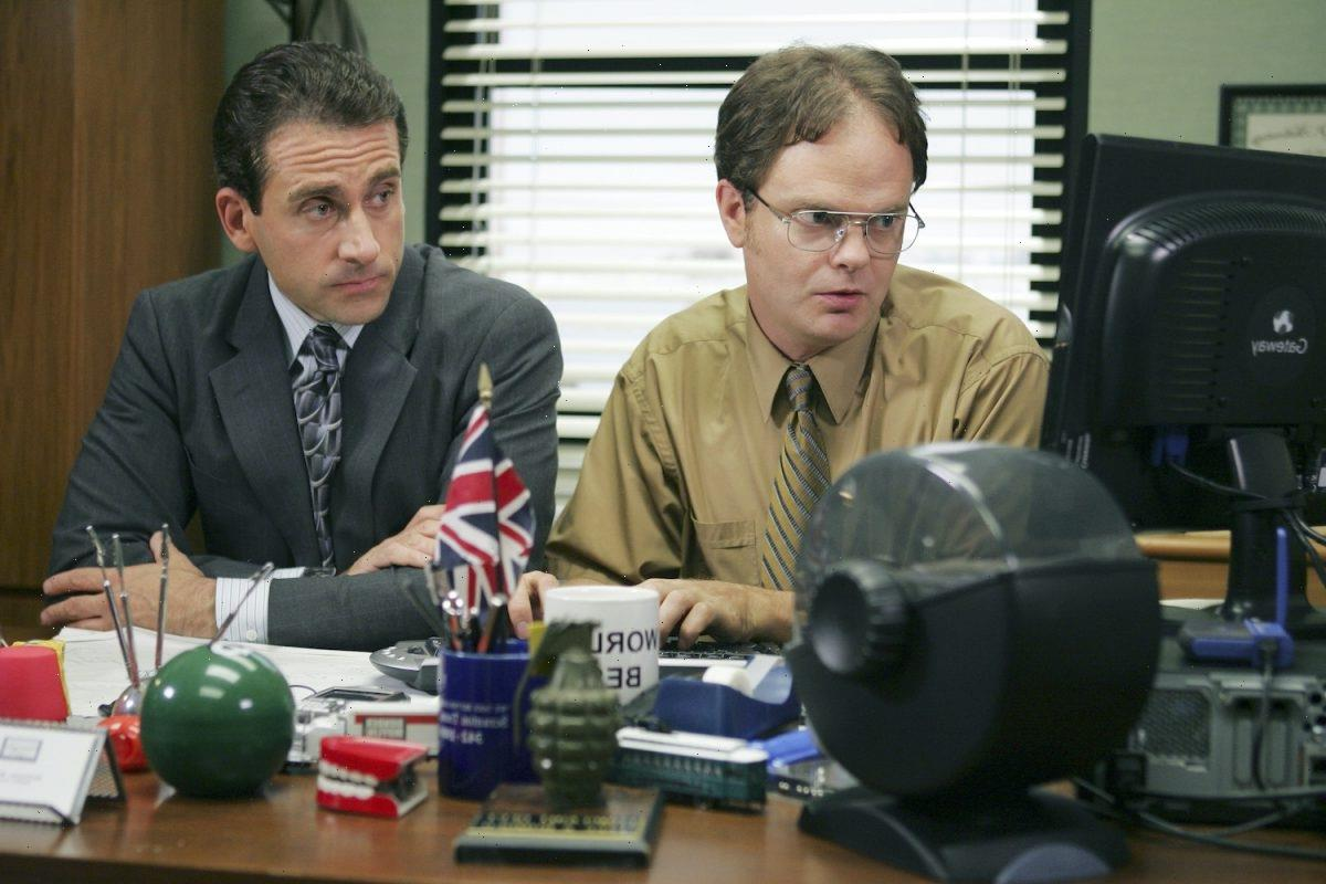 'The Office': Steve Carell and Rainn Wilson Couldn't Keep It Together During This Iconic Scene