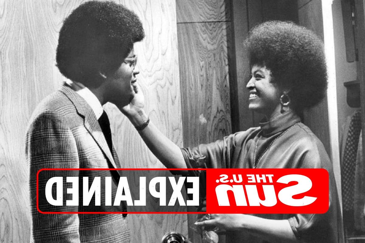 Who was Clarence Williams III's ex-wife Gloria Foster?