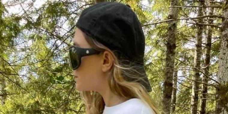 Ashley Olsen Hiking in the Woods with a Machete and Drinking Beer Is Pure Chaos