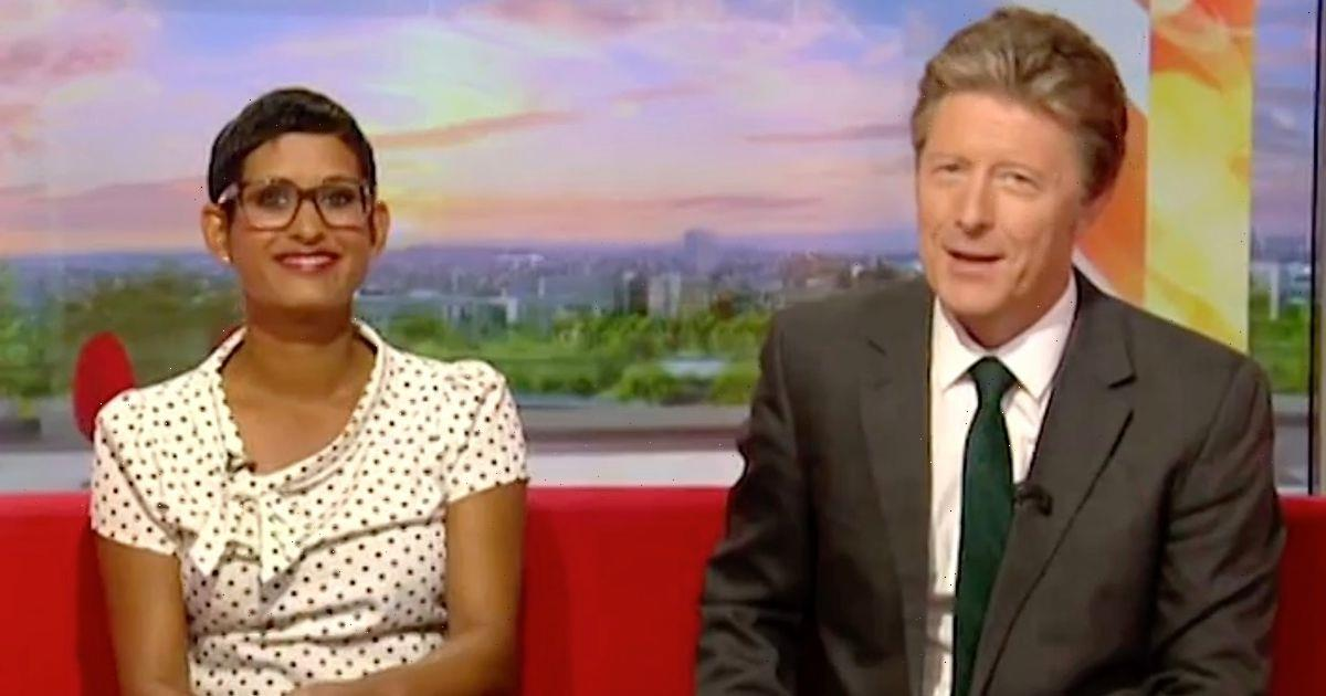 BBC Breakfast's Naga Munchetty and Charlie Stayt absent in show shake-up