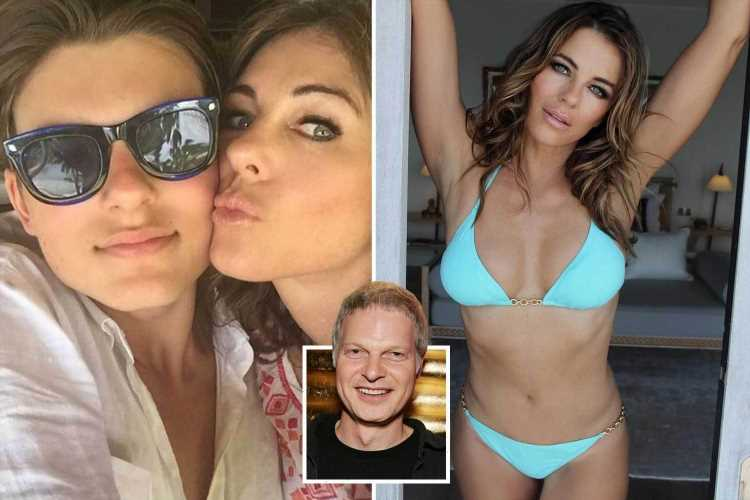 Elizabeth Hurley 'devastated' as son Damian, 19, cut out of £180m fortune after dad Steve Bing's death