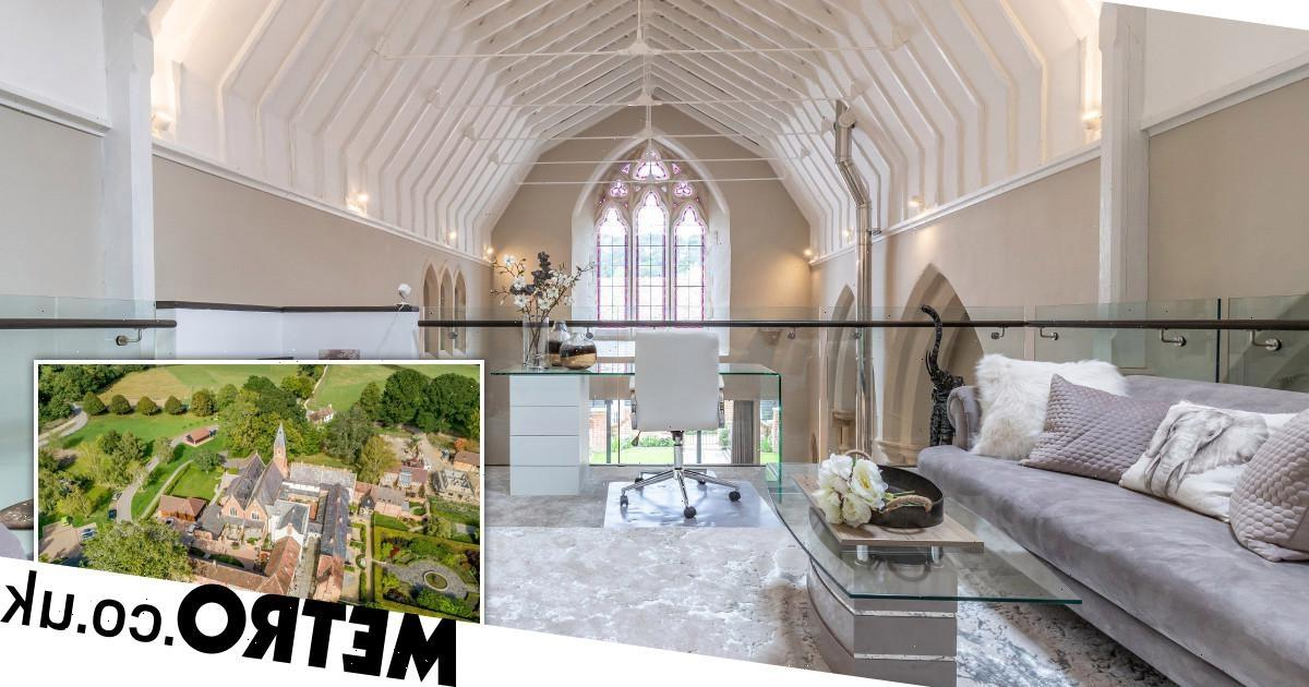 Chapel used by nuns for 139 years gets transformed into £1.5million house