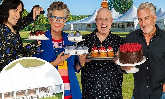 Great British Bake Off's secure filming bubble was a 'non-stop party'