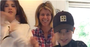 Kate Garraway shares terrifying moment son Billy, 12, is thrown off horse who passed wind