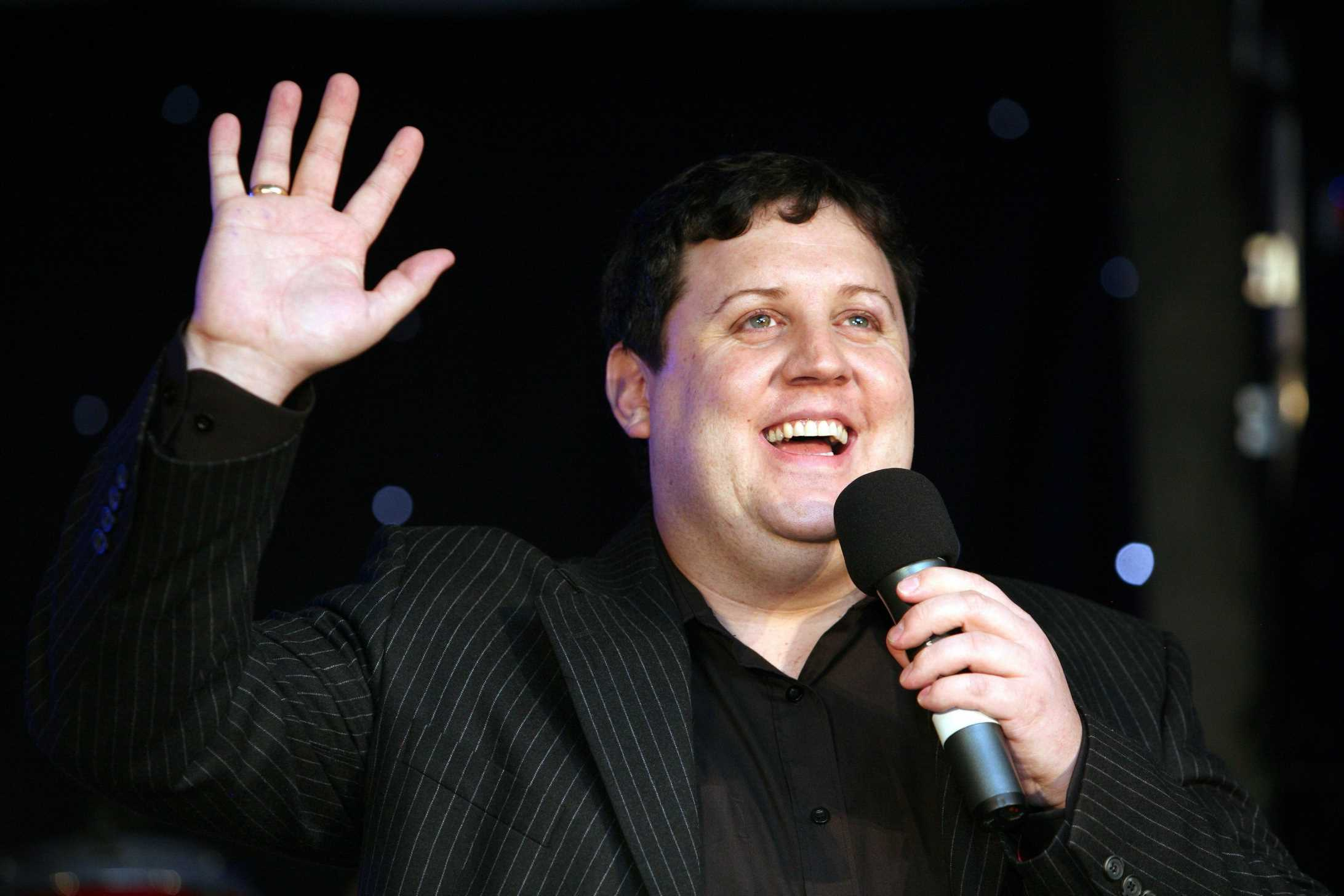 Peter Kay jokes 'I'm going away for four more years' after standing ovation from cheering crowds at long-awaited return