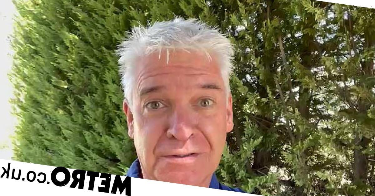 Phillip Schofield emotional as he reflects on coming out