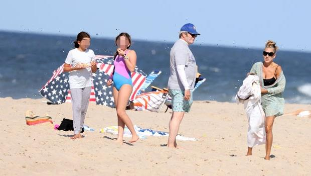 Sarah Jessica Parker Rocks Black Swimsuit In Rare Pics With Twin Daughters, 12, & Matthew Broderick