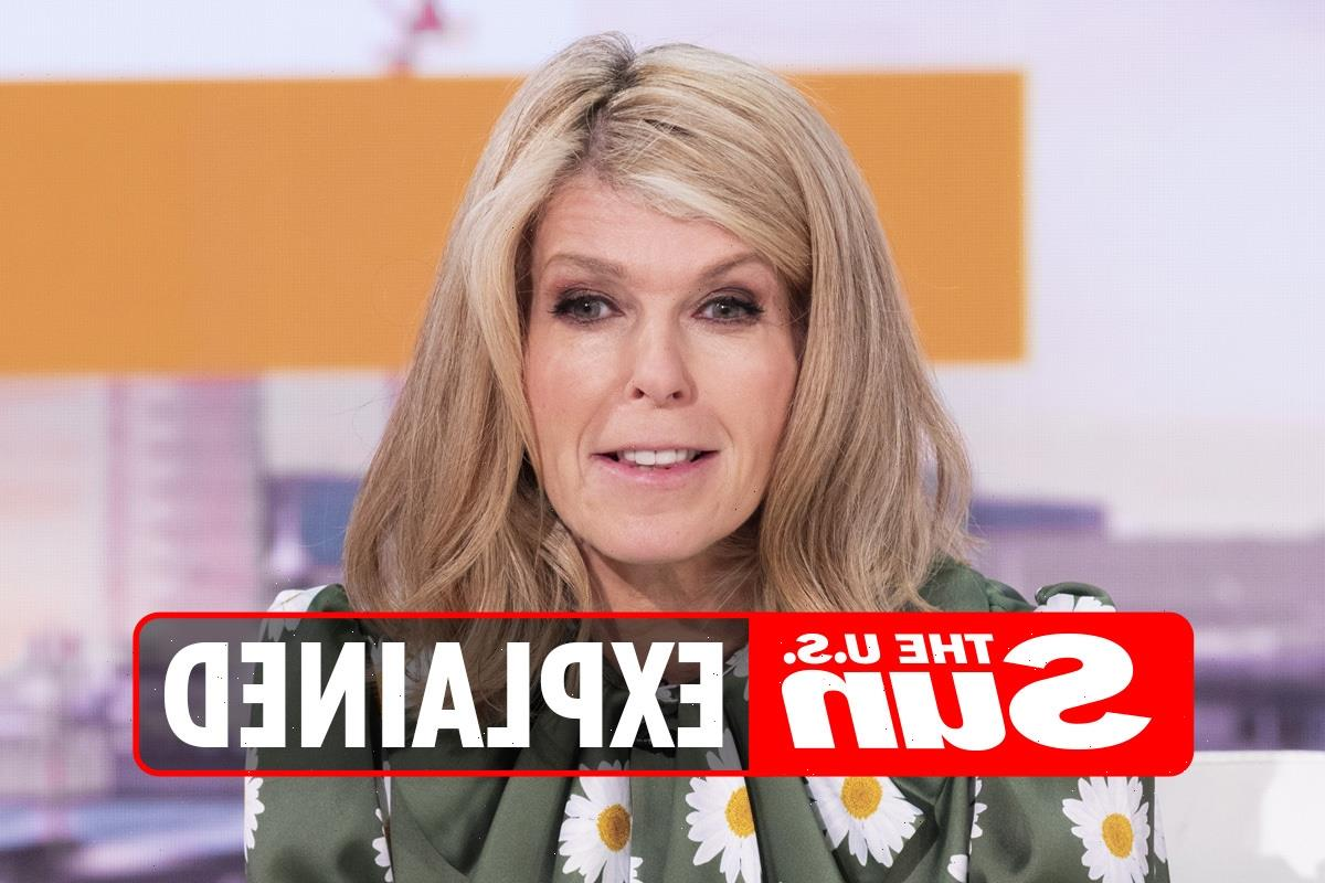 Why is Kate Garraway not on Good Morning Britain today and when is she back?