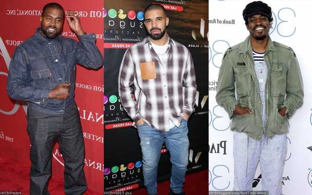 Andre 3000 Says It's 'Unfortunate' After Drake Leaked His Unreleased Collab With Kanye West