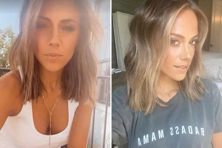 Jana Kramer chops off hair to celebrate changing last name after nasty divorce from cheating ex Mike Caussin