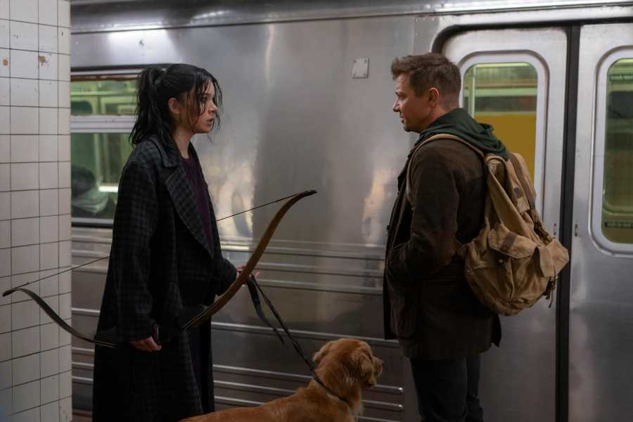Jeremy Renner, Hailee Steinfeld Mix Holiday Cheer and Superhero Action in New 'Hawkeye' Trailer