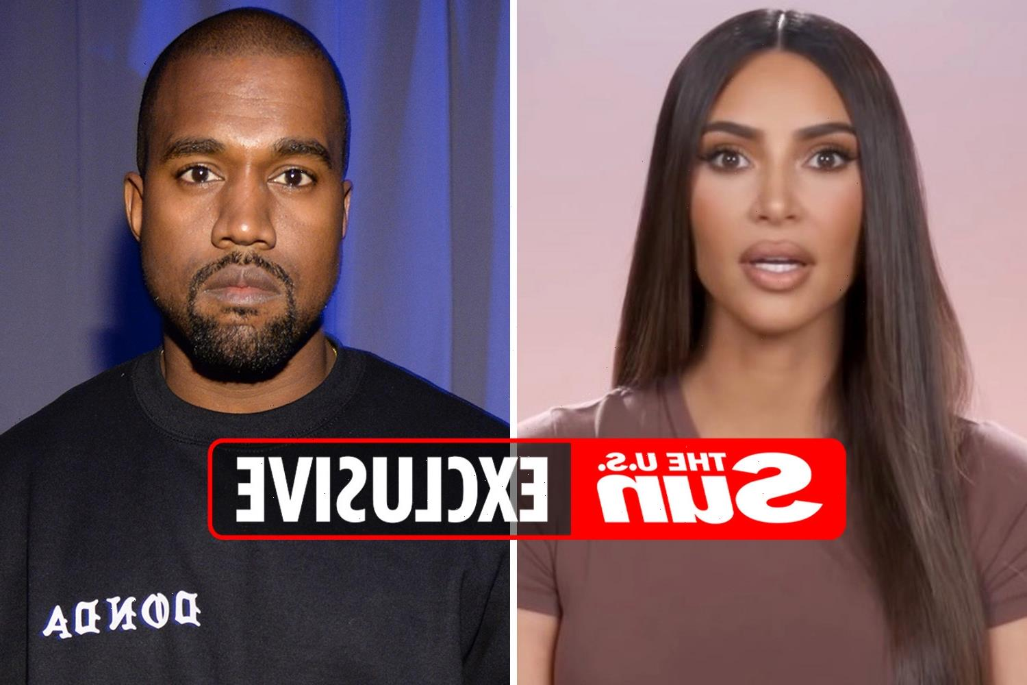 Kim Kardashian 'begged' Kanye West to remove cheating confession on Donda and is 'fuming' he 'humiliated' their family