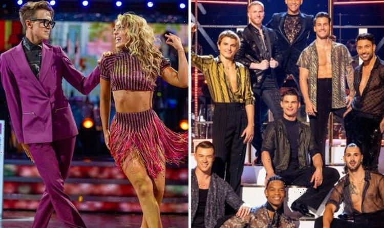 Strictly pros seen getting close after Tom and Amy Covid news: Did they break show rules?