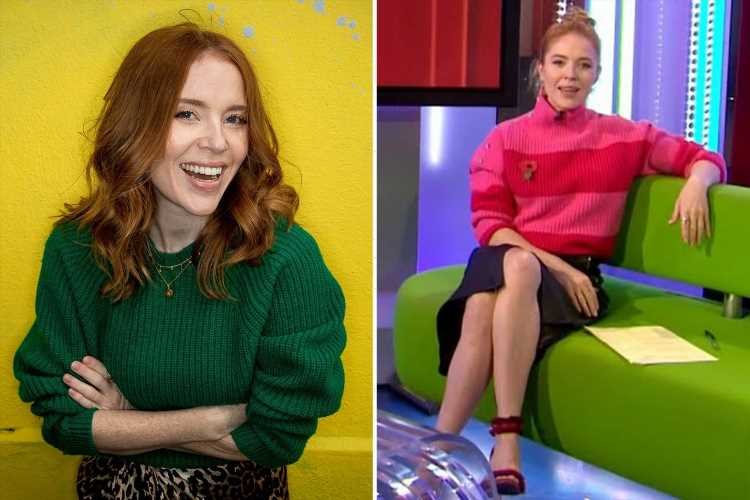 The One Show's Angela Scanlon rushed to hospital after serious four-car crash involving ambulance