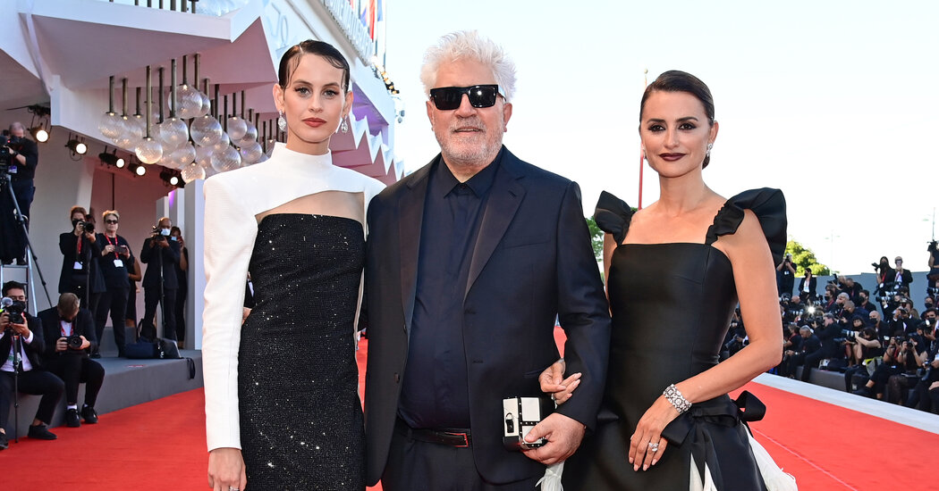Venice, Day 1: See the Almodóvar, Free the Nipple